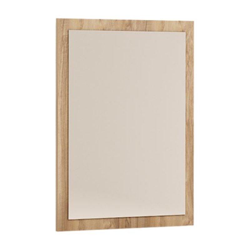 """Καθρέπτης τοίχου """"LOFT"""" σε χρώμα φυσικό 70x90"""
