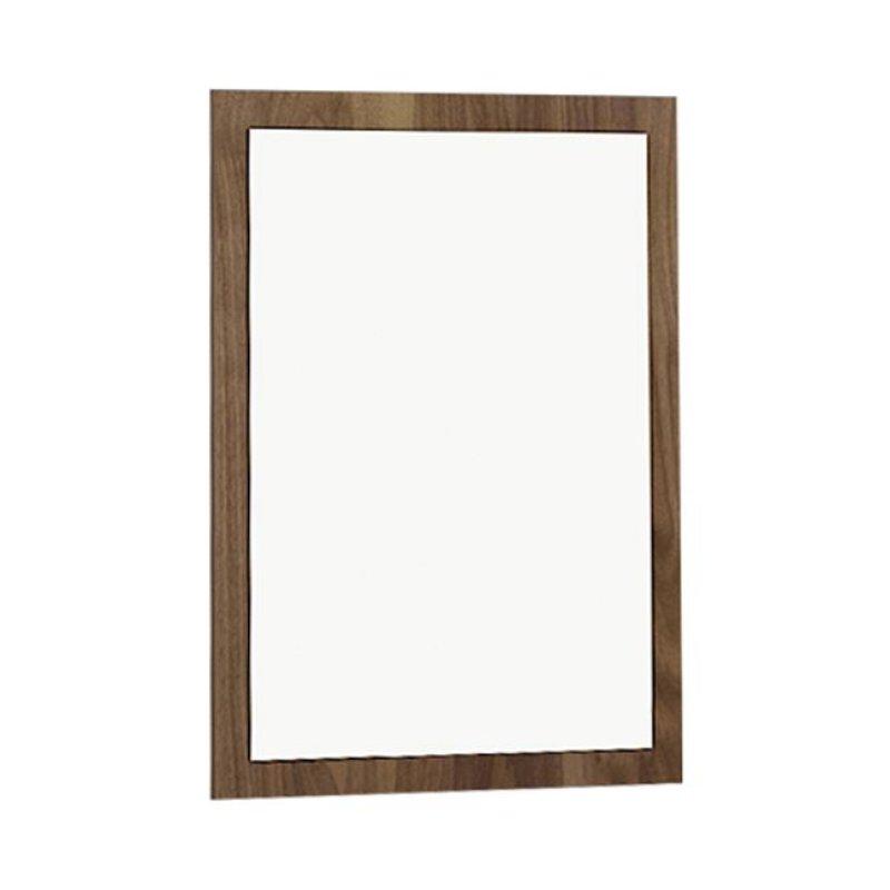 """Καθρέπτης τοίχου """"KOTON"""" σε χρώμα καρυδί 70x90"""