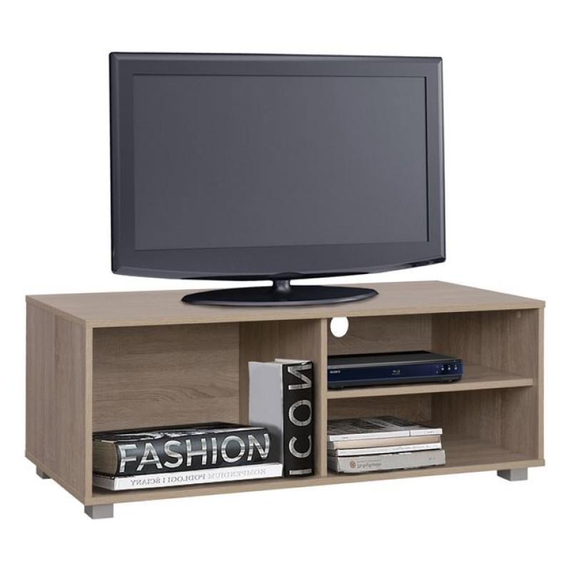 Έπιπλο τηλεόρασης σε χρώμα σονόμα 120x40x41