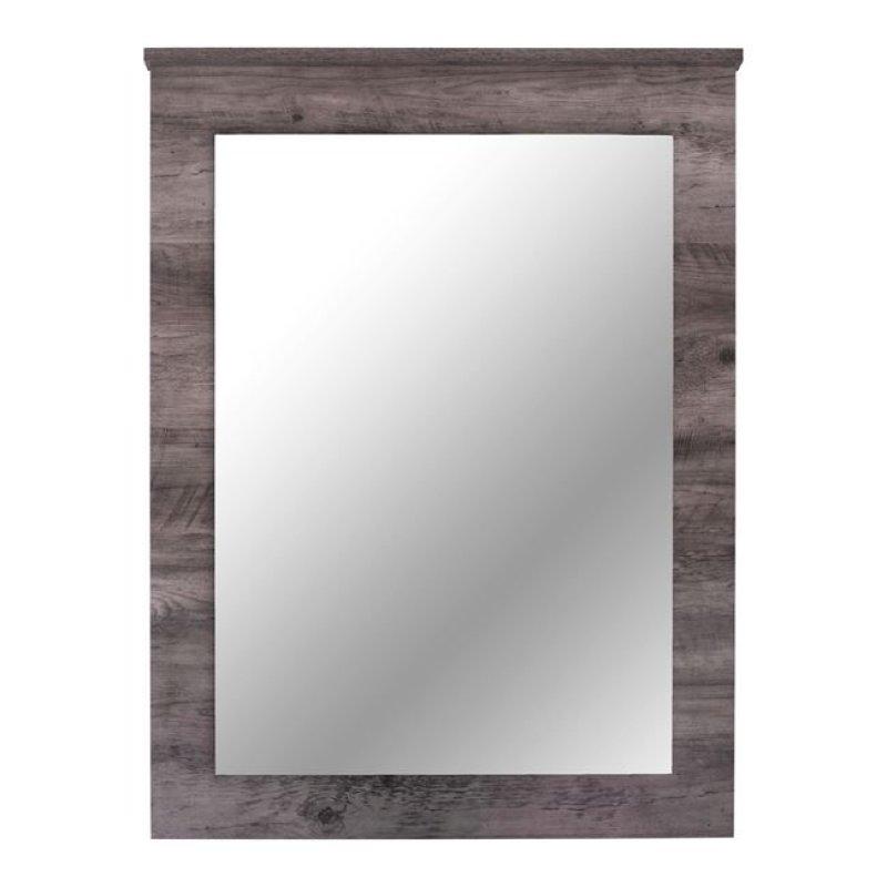 """Καθρέπτης τοίχου """"JACINTHA"""" σε χρώμα σταχτί/γκρι 71x94"""