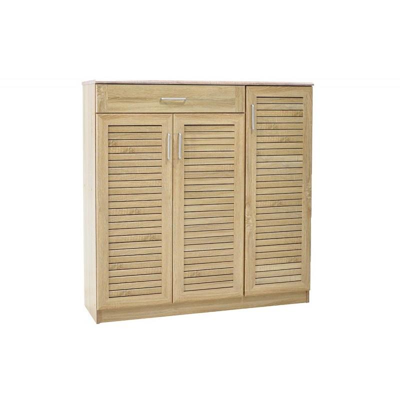"""Παπουτσοθήκη-ντουλάπι """"SANTE"""" σε χρώμα σονομά 120x40x123"""