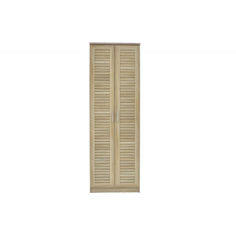 """Παπουτσοθήκη-ντουλάπα """"SANTE"""" σε χρώμα σονόμα 60x40x183"""