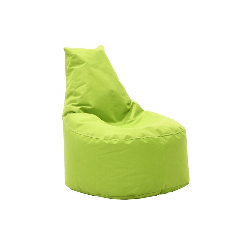 """Πουφ πολυθρόνα """"NORM"""" υφασμάτινο σε χρώμα πράσινο 65x55x75"""