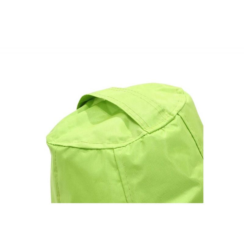 """Πουφ πολυθρόνα """"ECO"""" υφασμάτινο σε χρώμα πράσινο 70x70x90"""