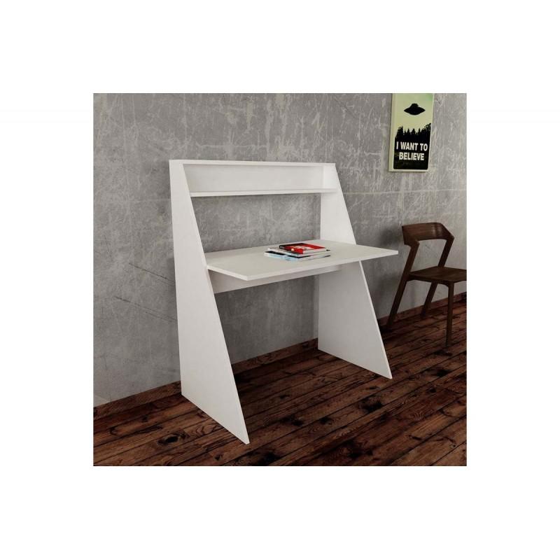 """Γραφείο εργασίας """"KRESTO"""" σε χρώμα λευκό 103,5x60x75/122"""