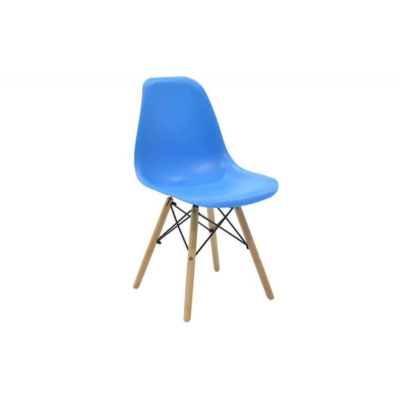 """Καρέκλα """"JULITA"""" pp σε χρώμα μπλε 52.5x46.50x82.5"""