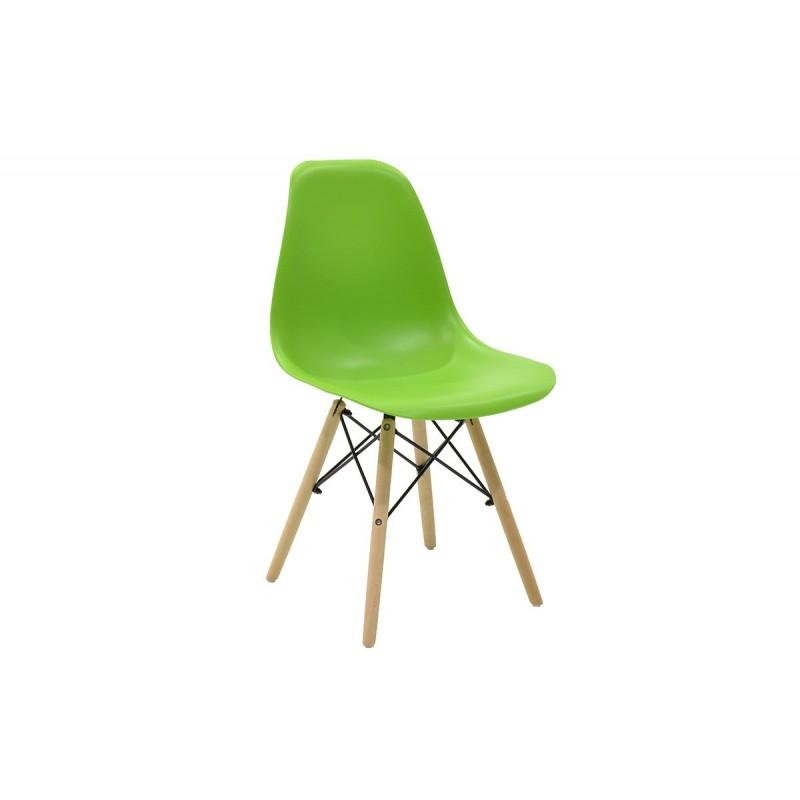 """Καρέκλα """"JULITA"""" pp σε χρώμα πράσινο 52.5x46.50x82.5"""