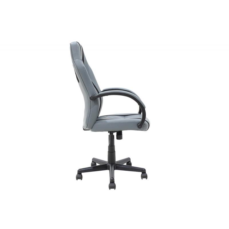 """Καρέκλα γραφείου """"BUCKET-FIGHTER"""" σε χρώμα μαύρο-γκρι 68x62x107"""