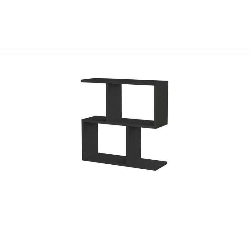 """Βοηθητικό τραπεζάκι """"HOMEMANIA"""" χρώμα ανθρακί 60x20x60"""