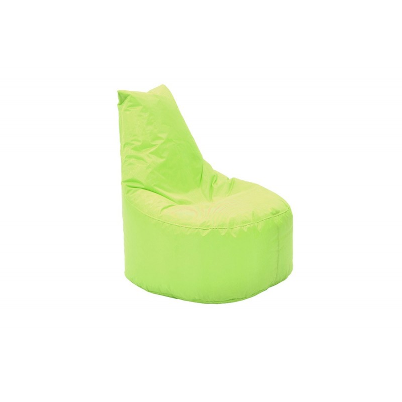 """Πουφ πολυθρόνα """"NORM PRO"""" υφασμάτινο σε χρώμα λαχανί 70x60x75"""