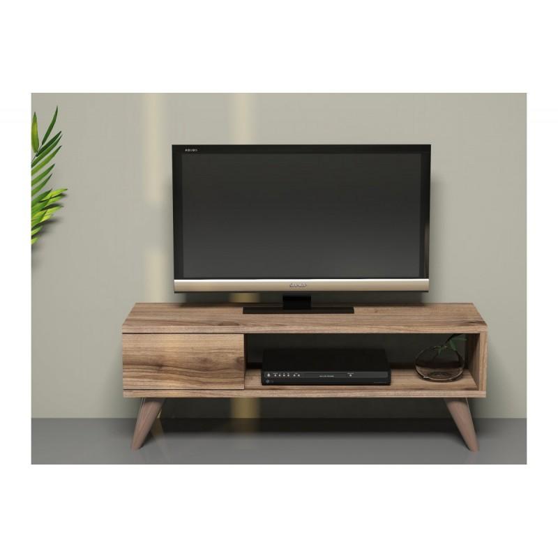 """Έπιπλο τηλεόρασης """"MAYA"""" σε φυσικό χρώμα 90x30x33"""