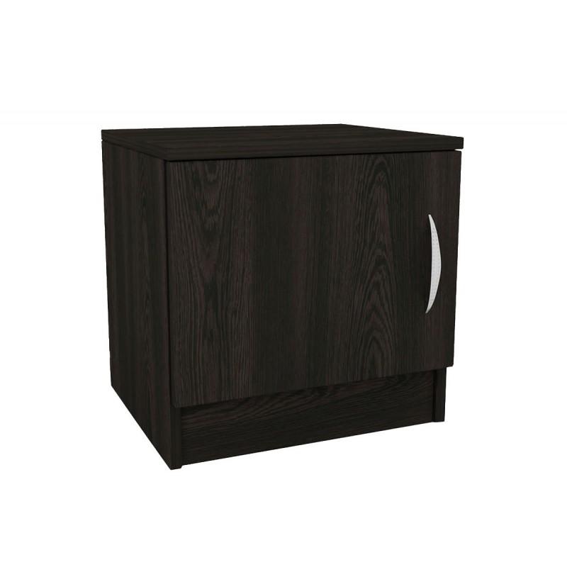 """Κομοδίνο """"DECO 111"""" με ένα ντουλάπι σε χρώμα βέγγε 40x35,5x41"""