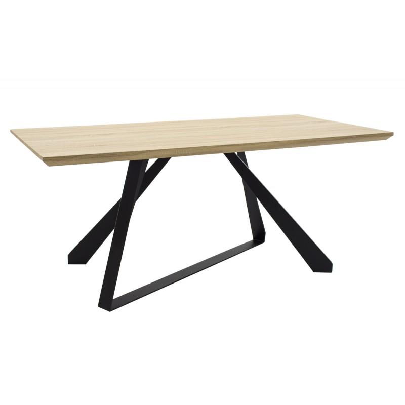 """Τραπέζι """"SOHO"""" ορθογώνιο σε χρώμα σονόμα 180x90x75"""