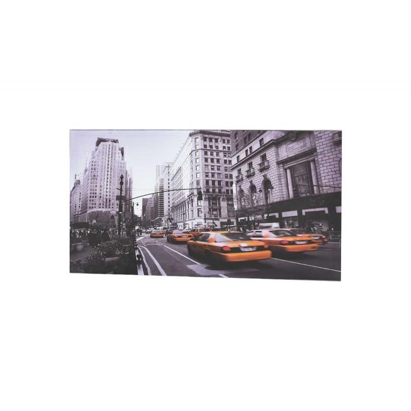 """Τραπεζάκι σαλονιού """"RANGLER"""" με γυάλινη επιφάνεια 105x55x33"""