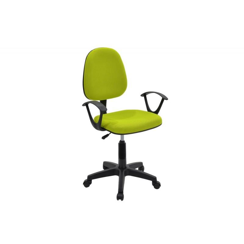 """Πολυθρόνα εργασίας """"MARIA"""" με ύφασμα mesh σε χρώμα πράσινο 63x53x94/108"""
