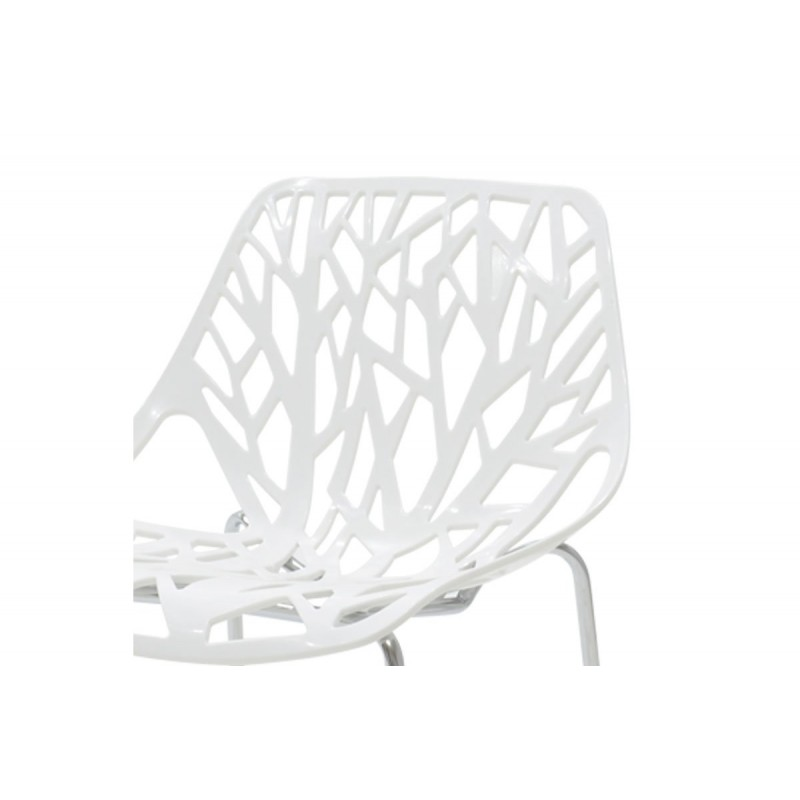 """Καρέκλα """"MARE"""" πολυπροπυλενίου σε χρώμα λευκό 53x45x78"""