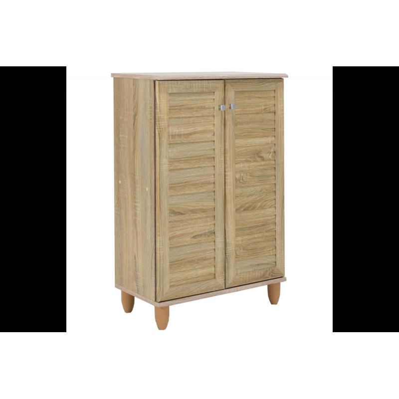 """Παπουτσοθήκη-ντουλάπι """"SANTO"""" σε χρώμα σονόμα  60x34,5x91,5"""