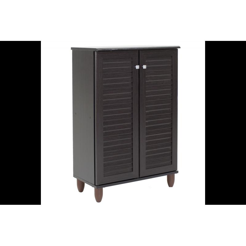 """Παπουτσοθήκη-ντουλάπι """"SANTO"""" σε χρώμα βέγγε 60x34,5x91,5"""