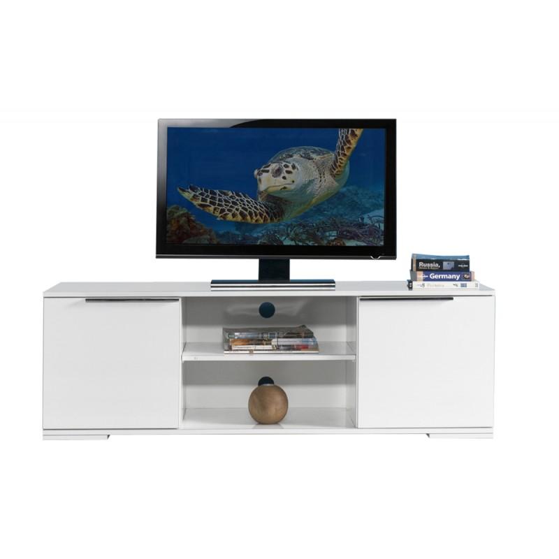 """Έπιπλο τηλεόρασης """"FLAT LINE"""" σε χρώμα λευκό 140x45x47"""