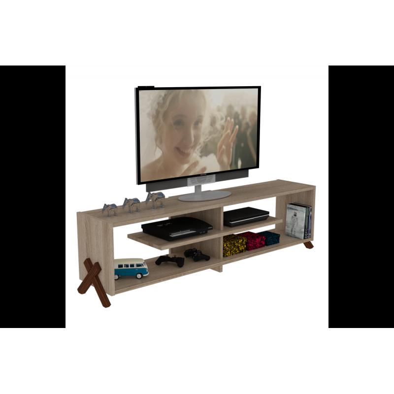 """Έπιπλο τηλεόρασης """"KIPP"""" σε χρώμα σονόμα  145x31x39"""