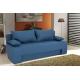 "Kαναπές-κρεβάτι ""SUNNY"" τριθέσιος υφασμάτινος σε χρώμα πετρόλ 195x82x84"