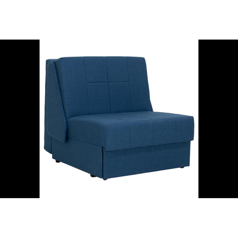 """Πολυθρόνα-κρεβάτι """"MIAMI"""" υφασμάτινη σε χρώμα πετρόλ 88x108x91"""