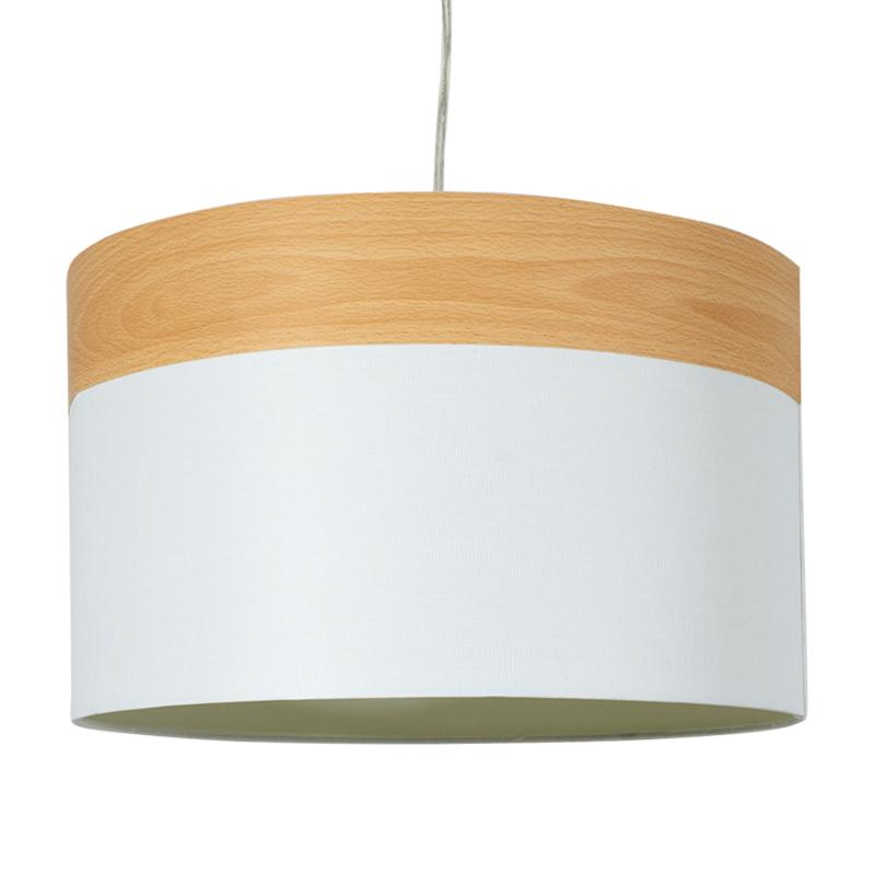 """Φωστικό οροφής """"PWL-0011"""" σε λευκό χρώμα Φ40x25,5"""