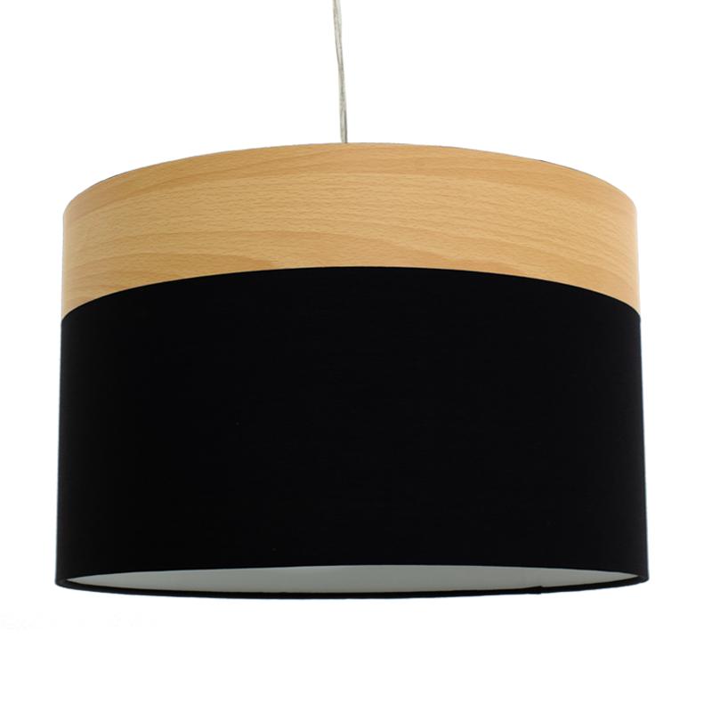 """Φωστικό οροφής """"PWL-0011"""" σε μαύρο χρώμα Φ40x25,5"""