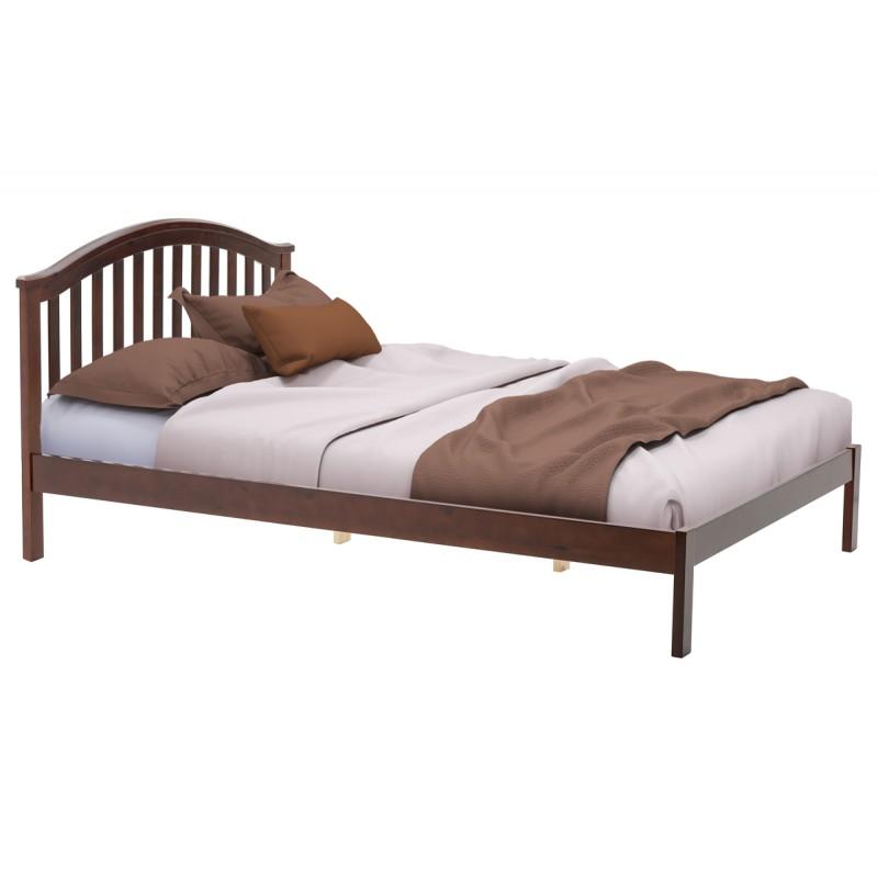 """Κρεβάτι """"SCANDAL"""" διπλό σε κερασί χρώμα 149x209x95"""