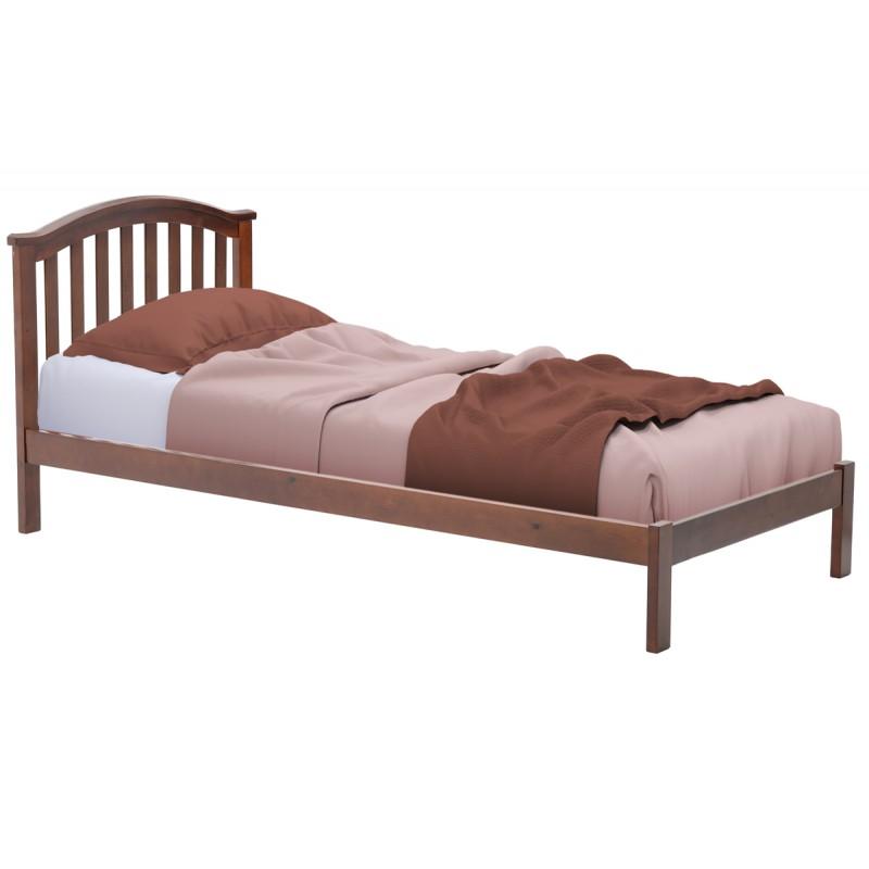 """Κρεβάτι """"SCANDAL"""" μονό σε κερασί χρώμα 99x209x95"""