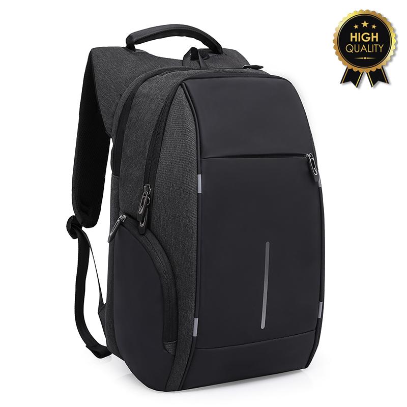 """Σακίδιο πλάτης """"TRV-002"""" μαύρο για Laptop 15,6'' 30x13x45"""