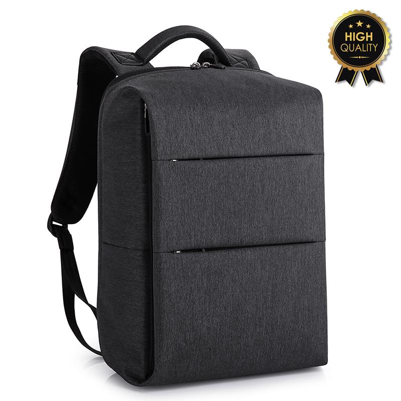 """Σακίδιο πλάτης """"TRV-007"""" μαύρο με usb για Laptop 15,6'' 31x19x46"""