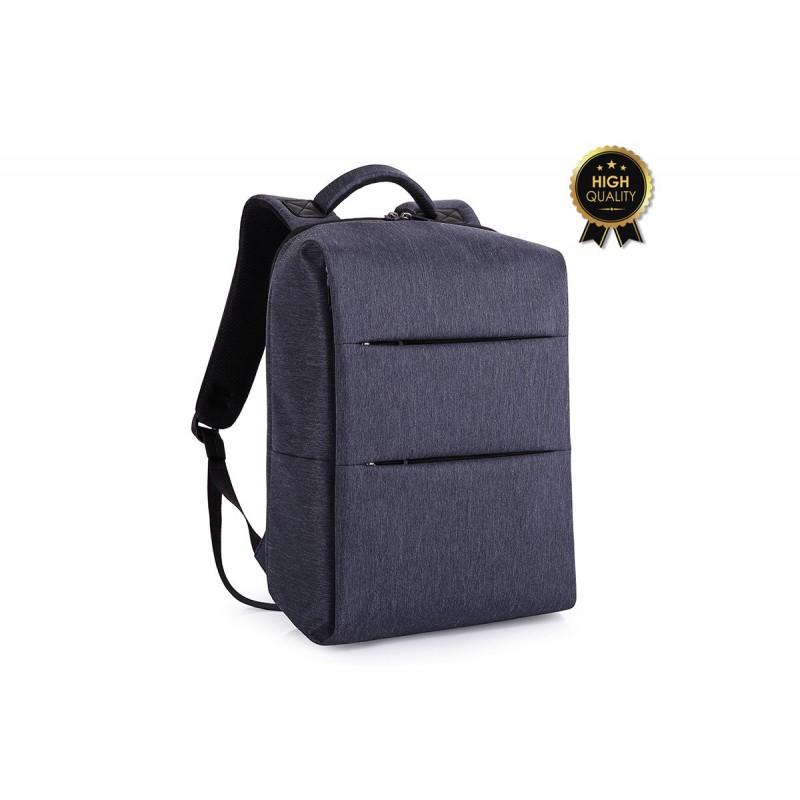"""Σακίδιο πλάτης """"TRV-007"""" μπλε με usb για Laptop 15,6'' 31x19x46"""