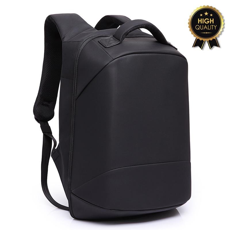 """Σακίδιο πλάτης αντικλεπτικό """"TRV-003"""" μαύρο με usb+Laptop 15'' 30x13x45"""