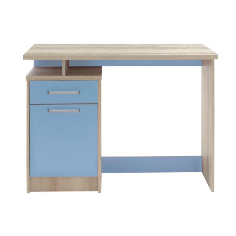 """Γραφείο παιδικό """"LΟΟΝΕΥ"""" σε χρώμα castillo-μπλε 100x55x75"""