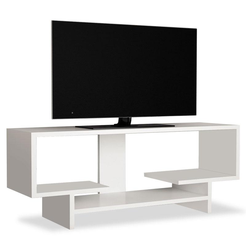 Έπιπλο τηλεόρασης σε χρώμα λευκό 90x29,5x40