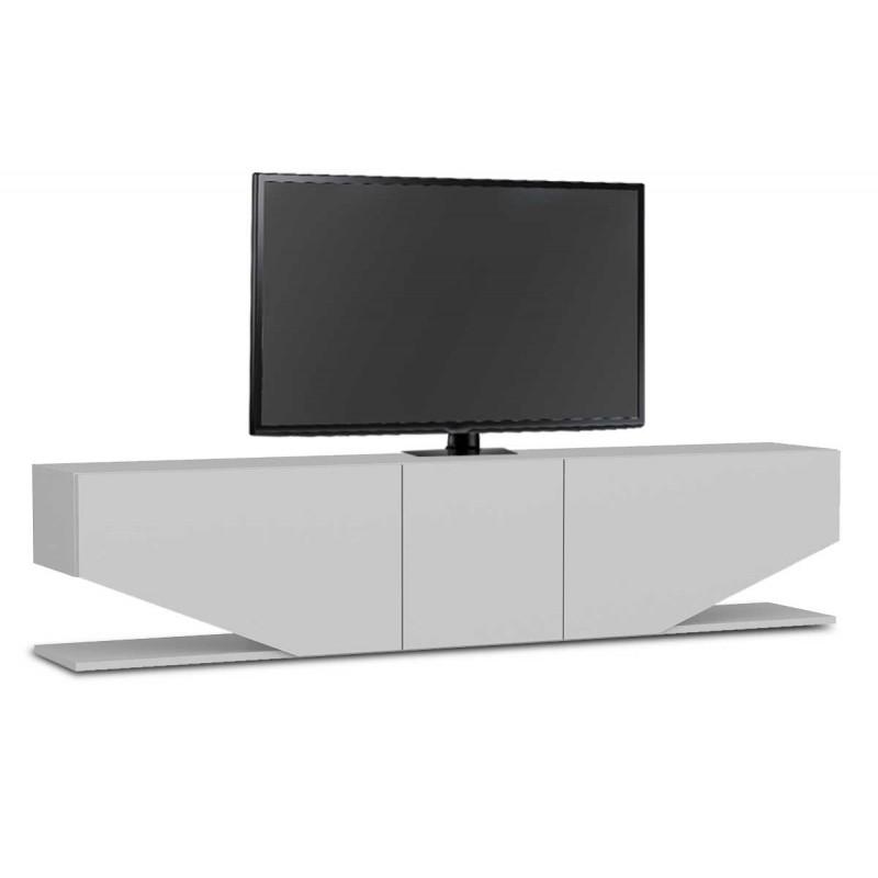 Έπιπλο τηλεόρασης σε χρώμα λευκό 180x30x40