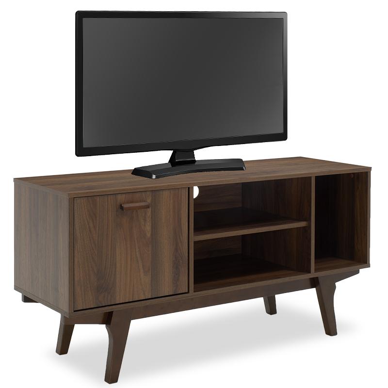 """Έπιπλο τηλεόρασης """"NOOK"""" χρώμα Columbia καρυδί 120x40x60"""