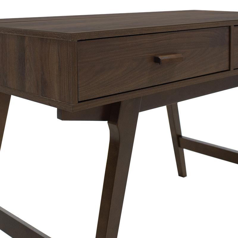 """Γραφείο-κονσόλα """"NOOK"""" σε χρώμα Columbia καρυδί 120x60x76"""
