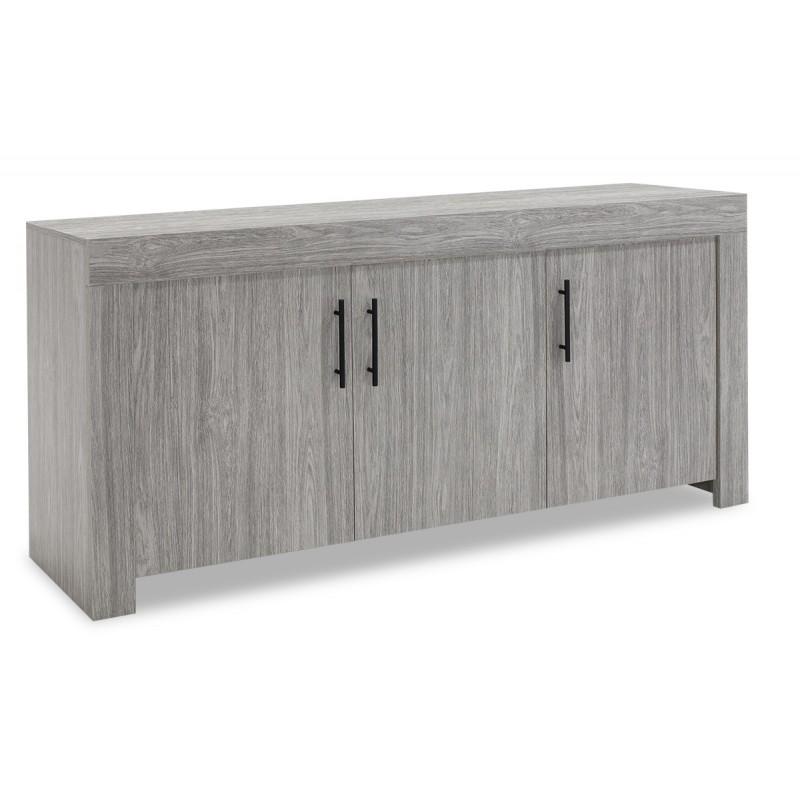 """Μπουφές """"SPOOK"""" σε χρώμα grey oak 180x42,5x77"""
