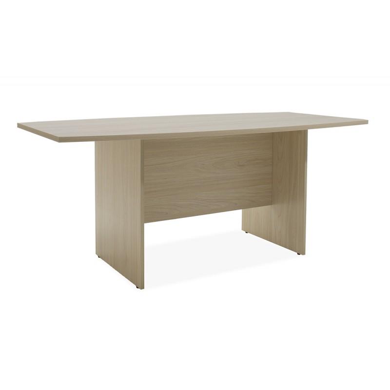 """Τραπέζι συνεδρίου """"SENIOR"""" σε χρώμα σονόμα 180x90x75"""