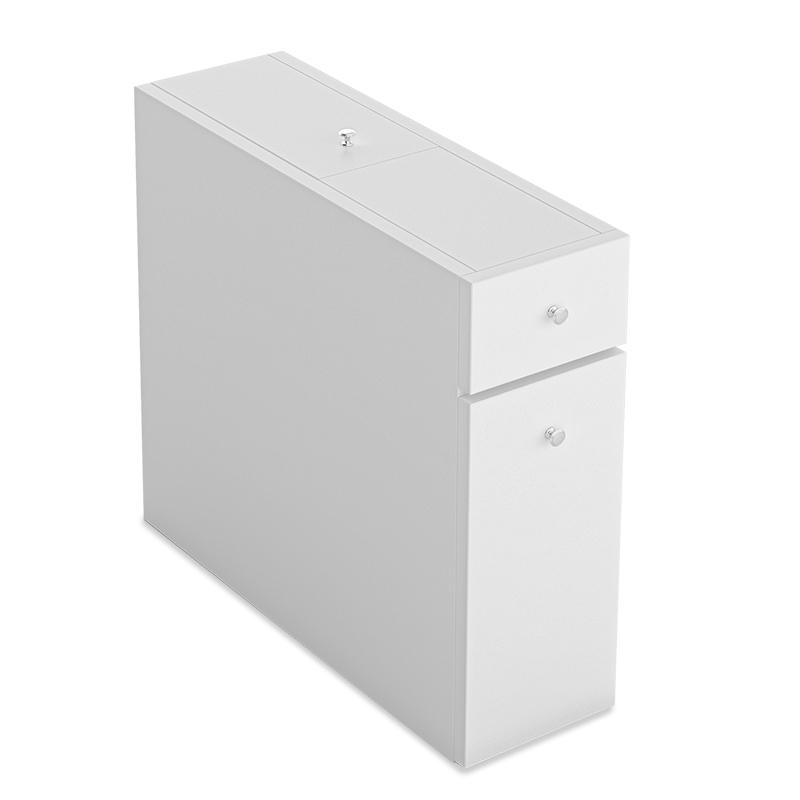 """Συρταριέρα πολυμορφική μπάνιου """"PWF-0010"""" χρώμα λευκό 19x60x55"""