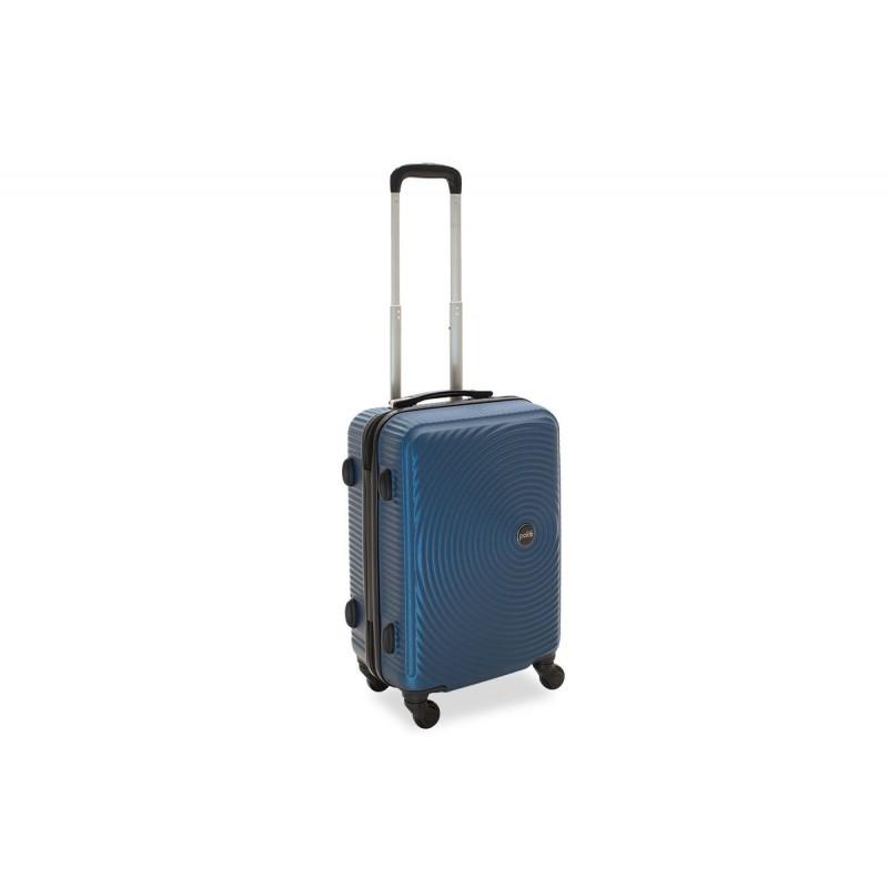 """Βαλίτσα καμπίνας """"POLAR"""" με σκληρό περίβλημα σε χρώμα μπλε 38x22,5x57"""