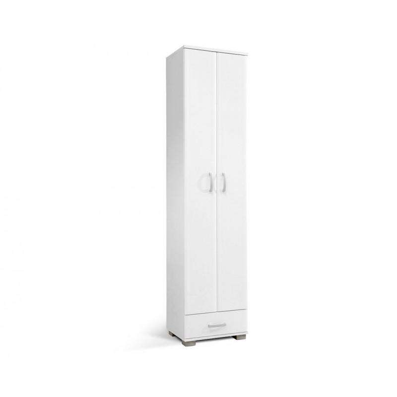"""Έπιπλο εισόδου """"APOLON PA1"""" σε χρώμα λευκό 50x37x209"""