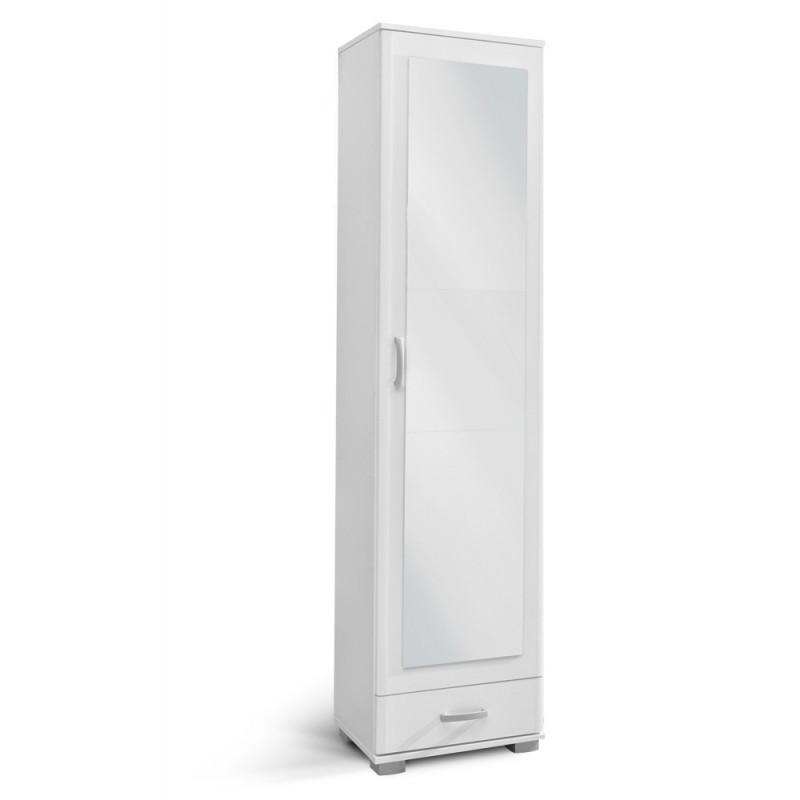 """Ντουλάπα-έπιπλο εισόδου """"ATINA A1"""" χρώμα λευκό 50x37x209"""