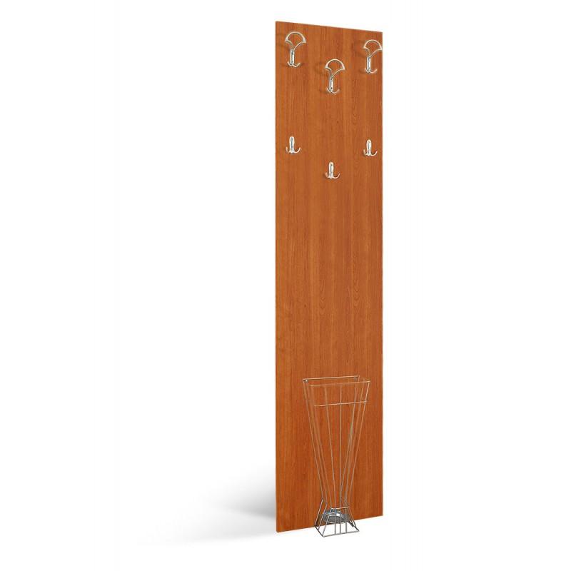"""Κρεμάστρα-έπιπλο εισόδου """"ATINA A2"""" σε χρώμα κερασί 50x11.8x209"""