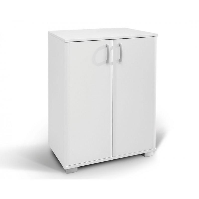 """Ντουλάπι-παπουτσοθήκη """"ROMA 1"""" σε χρώμα λευκό 75x37x95"""