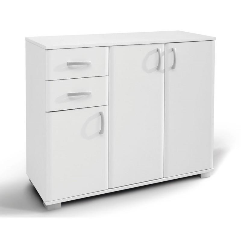 """Έπιπλο εισόδου """"ROMA 3"""" σε χρώμα λευκό 112.5x37x95"""