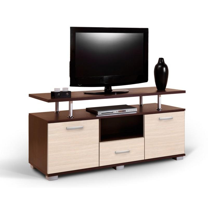 """Έπιπλο τηλεόρασης """"LUNA"""" σε χρώμα βέγγε/μπεζ 135x50x67"""