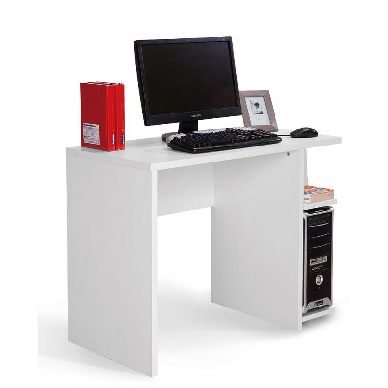 """Γραφείο υπολογιστή """"HAPPY KOMP STO"""" σε χρώμα λευκό 100x50x75"""